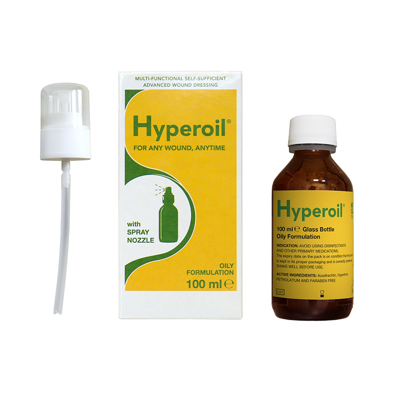Hyperoil Multi-functional & Vegetal Advanced Wound Dressing