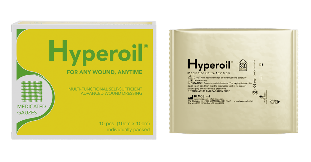 Hyperoil Medicated Gauzes GEL_2020